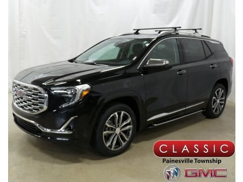 Ebony Twilight Metallic 2019 GMC Terrain Denali AWD