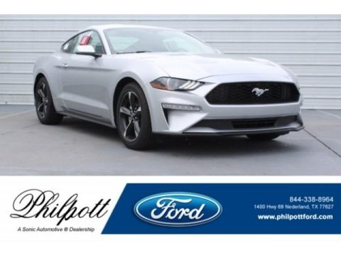Ingot Silver 2019 Ford Mustang EcoBoost Fastback