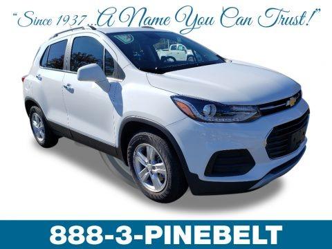 Summit White 2019 Chevrolet Trax LT