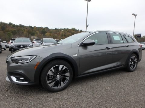 Smoked Pearl Metallic 2019 Buick Regal TourX Essence AWD