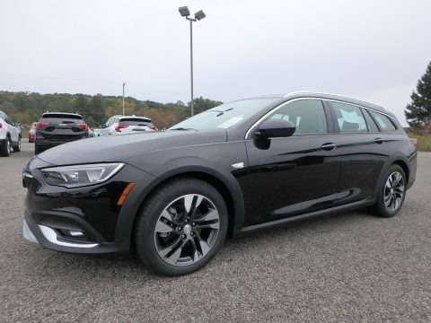 Ebony Twilight Metallic 2019 Buick Regal TourX Preferred AWD