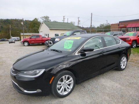 Black 2015 Chrysler 200 Limited