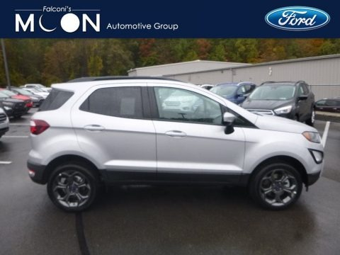 Moondust Silver 2018 Ford EcoSport SES 4WD