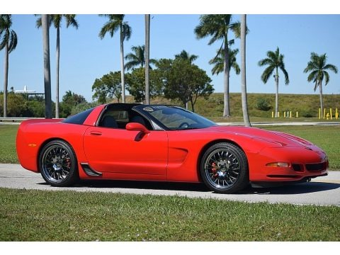 Torch Red 2001 Chevrolet Corvette Coupe