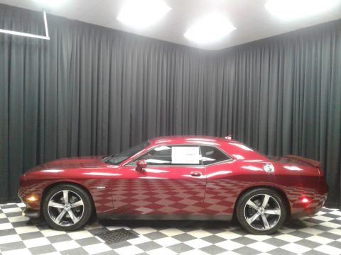 Octane Red Pearl 2019 Dodge Challenger R/T