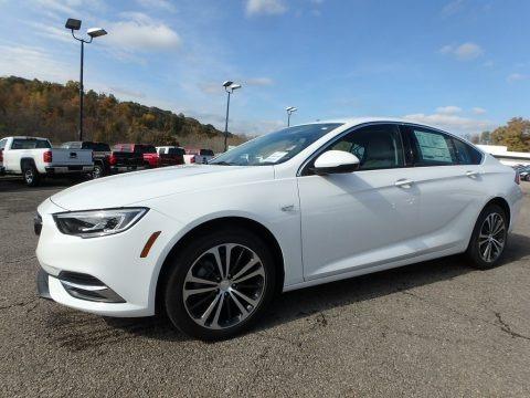 Summit White 2019 Buick Regal Sportback Preferred