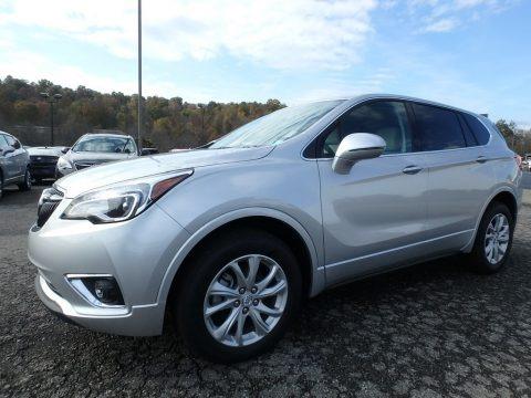 Galaxy Silver Metallic 2019 Buick Envision Preferred AWD
