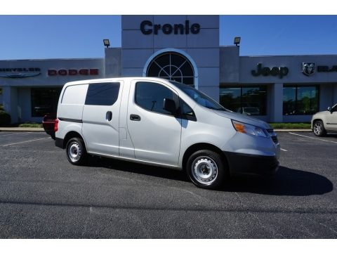 Galvanized Silver 2015 Chevrolet City Express LS