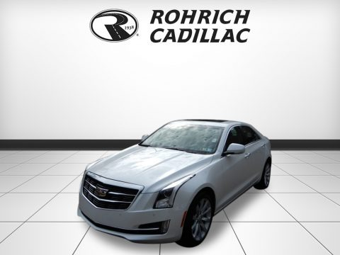 Crystal White Tricoat 2018 Cadillac ATS Premium Luxury AWD