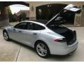 Tesla Model S  Silver Metallic photo #23