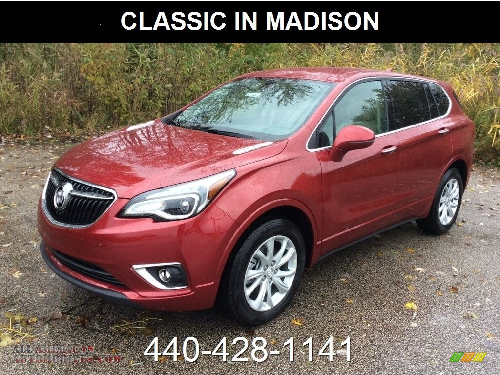 2019 Envision Preferred AWD - Chili Red Metallic / Light Neutral photo #1