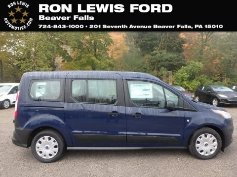 Dark Blue 2019 Ford Transit Connect XL Passenger Wagon