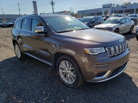 Walnut Brown Metallic 2018 Jeep Grand Cherokee Summit 4x4