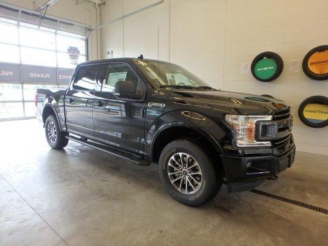 Shadow Black 2018 Ford F150 XLT SuperCrew 4x4