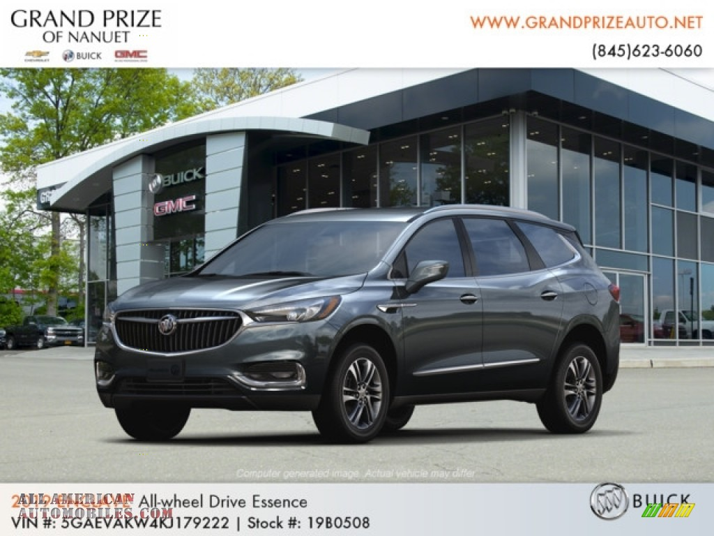 2019 Enclave Essence AWD - Dark Slate Metallic / Dark Galvanized/Ebony Accents photo #1