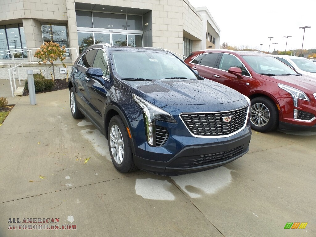 2019 XT4 Luxury AWD - Twilight Blue Metallic / Light Platinum/Jet Black photo #1