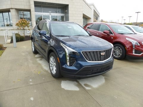 Twilight Blue Metallic 2019 Cadillac XT4 Luxury AWD