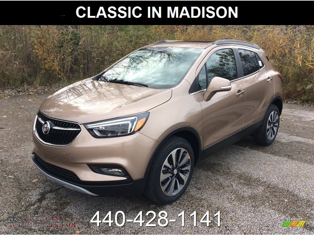 Coppertino Metallic / Ebony Buick Encore Essence AWD