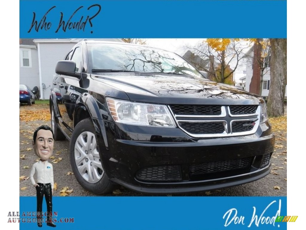 Pitch Black / Black Dodge Journey SE