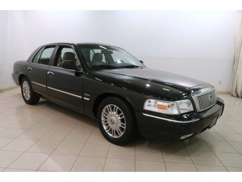 Black 2010 Mercury Grand Marquis LS Ultimate Edition