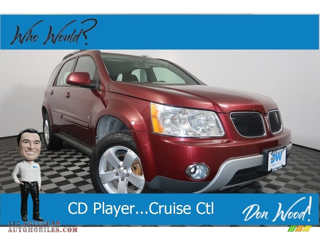 Sonoma Red Metallic / Ebony Pontiac Torrent