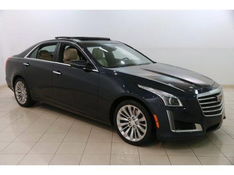 Dark Adriatic Blue Metallic 2017 Cadillac CTS Luxury AWD
