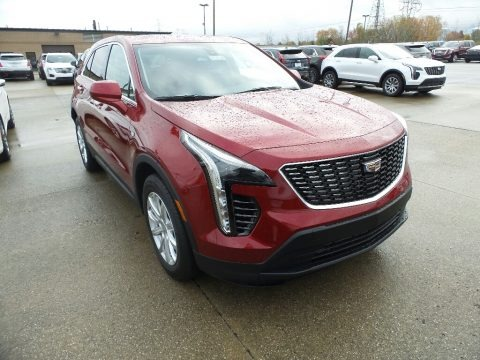 Red Horizon Tintcoat 2019 Cadillac XT4 Luxury AWD