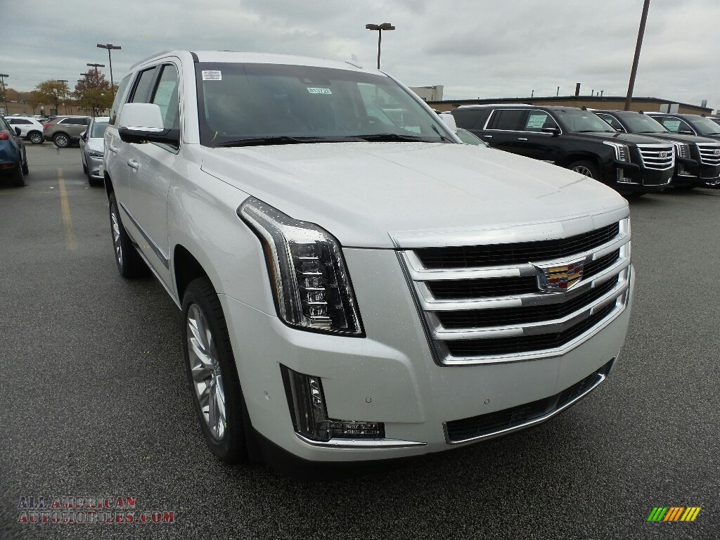 2019 Escalade Premium Luxury 4WD - Crystal White Tricoat / Jet Black photo #1