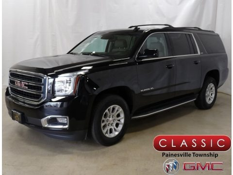 Onyx Black 2016 GMC Yukon XL SLT 4WD