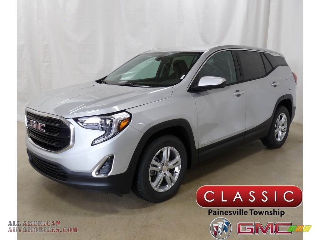 2019 Terrain SLE - Quicksilver Metallic / Jet Black photo #1