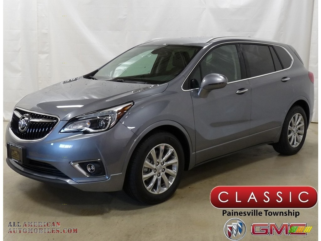 Satin Steel Gray Metallic / Ebony Buick Envision Essence