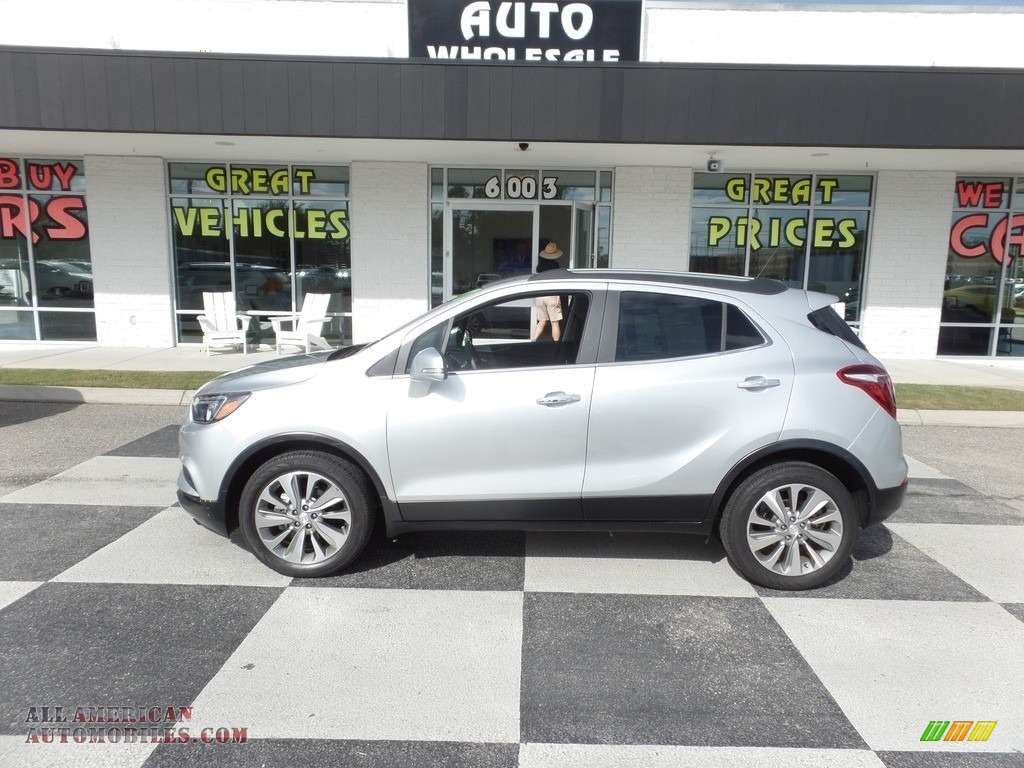 2017 Encore Preferred - Quicksilver Metallic / Ebony photo #1