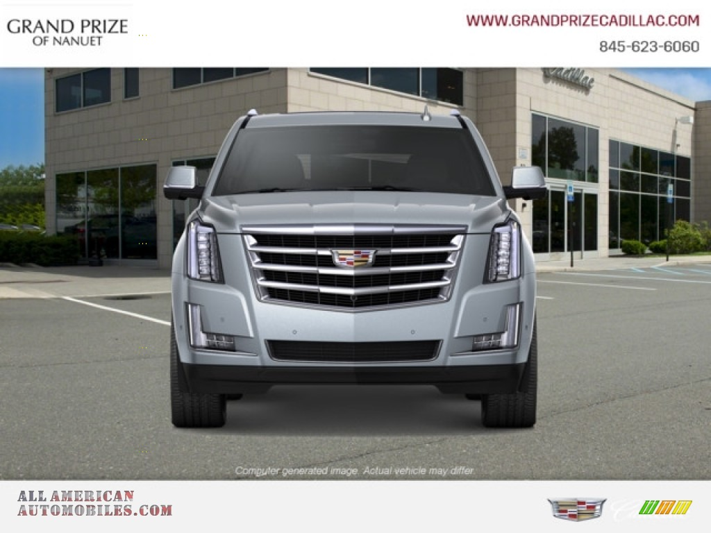 2019 Escalade Luxury 4WD - Satin Steel Metallic / Jet Black photo #1