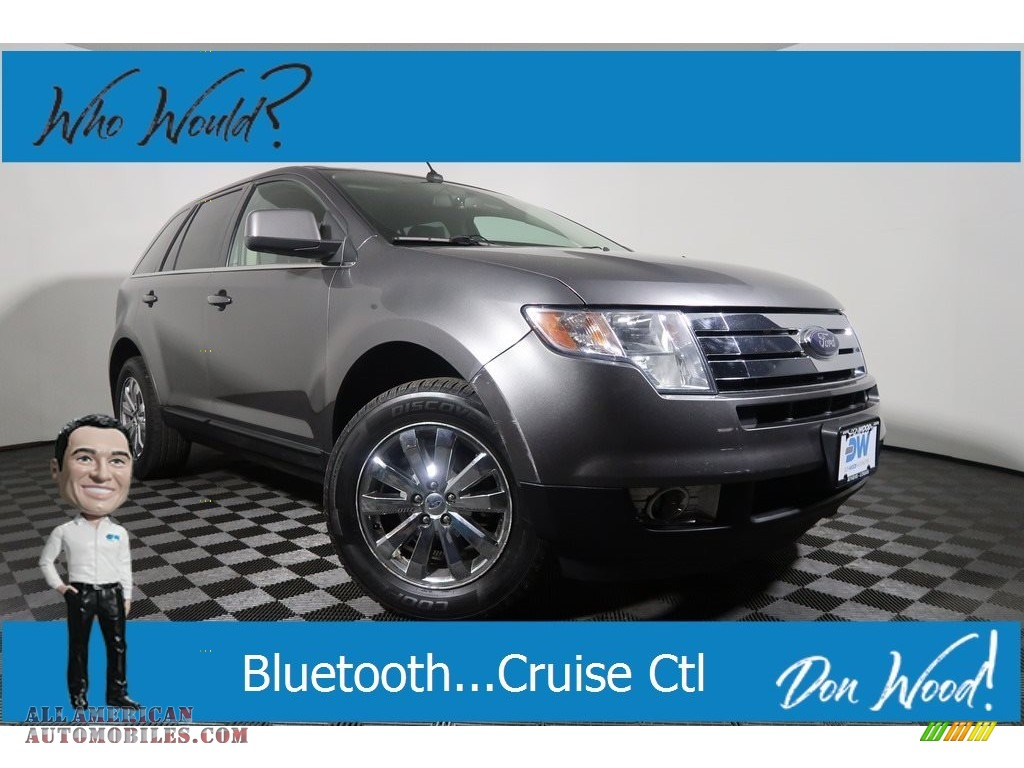 Sterling Grey Metallic / Charcoal Black Ford Edge Limited