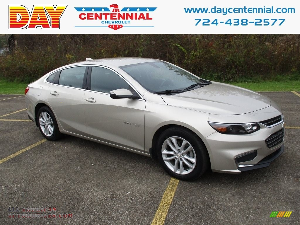 2016 Malibu LT - Champagne Silver Metallic / Jet Black photo #1