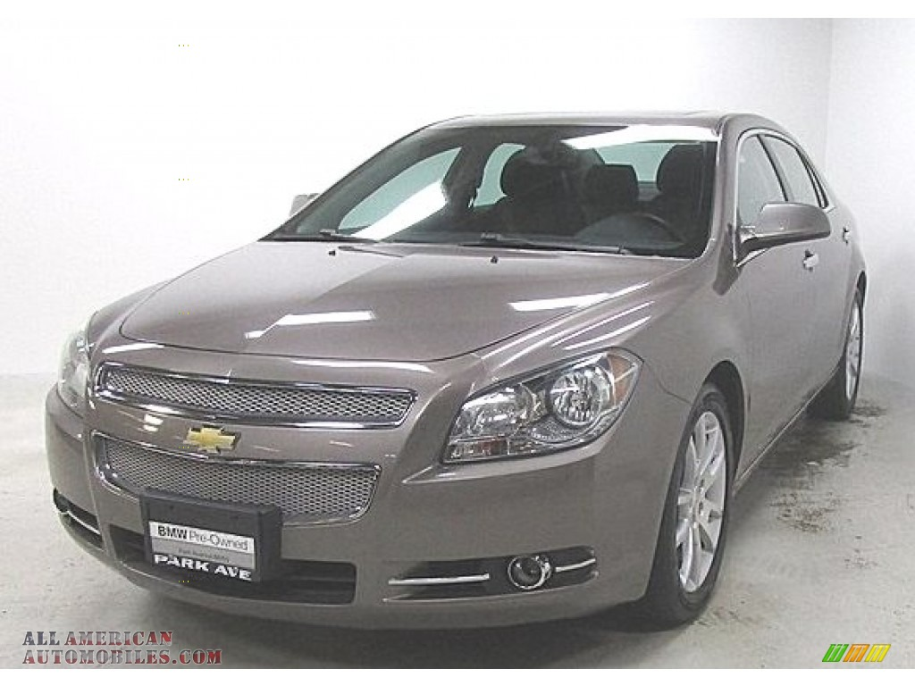 2012 Malibu LTZ - Mocha Steel Metallic / Cocoa/Cashmere photo #1