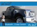 Ford F250 Super Duty XLT Crew Cab 4x4 Blue Jeans photo #1