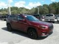 Jeep Cherokee Latitude Plus Velvet Red Pearl photo #7
