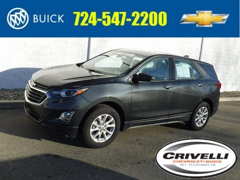 Nightfall Gray Metallic 2018 Chevrolet Equinox LS