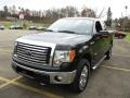 Ford F150 XLT SuperCab 4x4 Green Gem Metallic photo #16