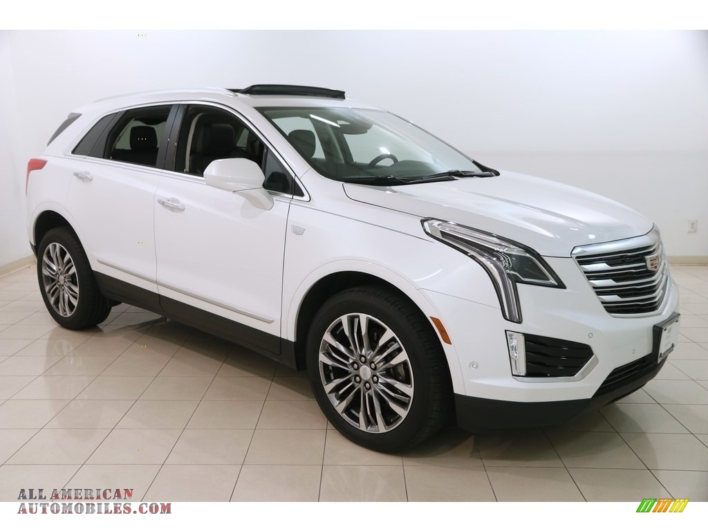 2018 XT5 Premium Luxury AWD - Crystal White Tricoat / Jet Black photo #1