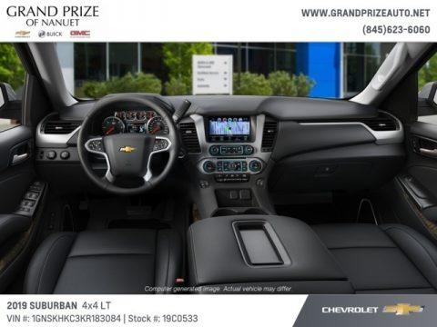 Iridescent Pearl Tricoat 2019 Chevrolet Suburban LT 4WD