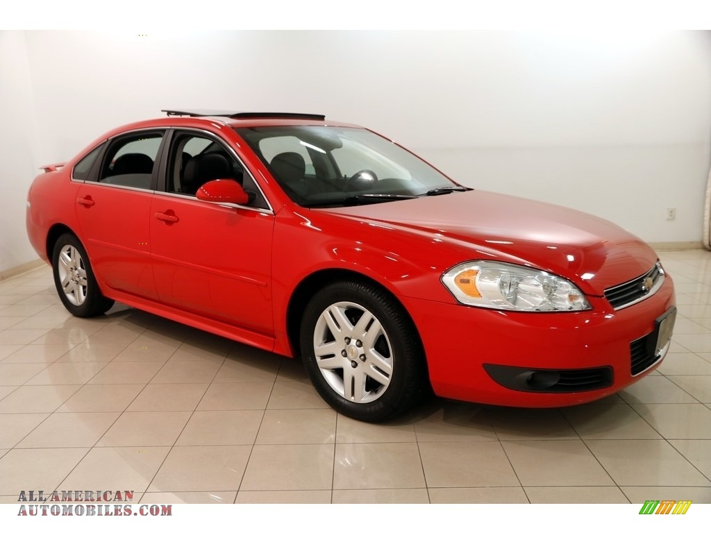 Victory Red / Ebony Chevrolet Impala LT