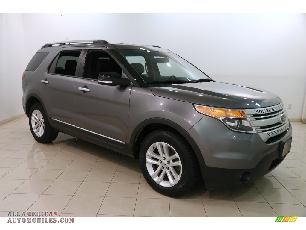 2014 Explorer XLT - Sterling Gray / Charcoal Black photo #1
