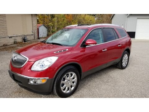 Crystal Red Tintcoat 2012 Buick Enclave AWD