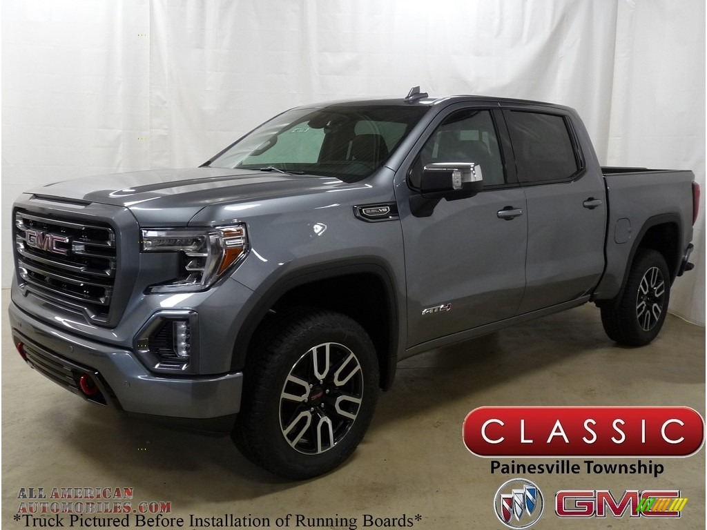 2019 Gmc Sierra 1500 At4 Crew Cab 4wd In Satin Steel Metallic