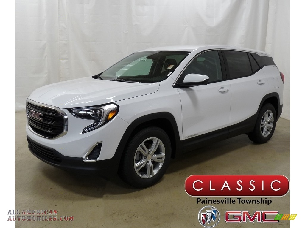 2019 Terrain SLE - Summit White / Jet Black photo #1