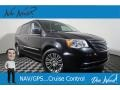 Chrysler Town & Country Touring-L Brilliant Black Crystal Pearl photo #1