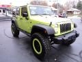 Jeep Wrangler Unlimited Sport 4x4 Hypergreen photo #5