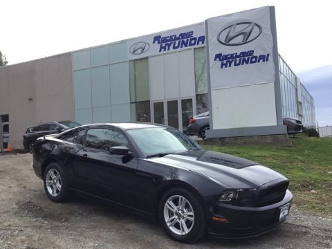 Black 2014 Ford Mustang V6 Premium Coupe